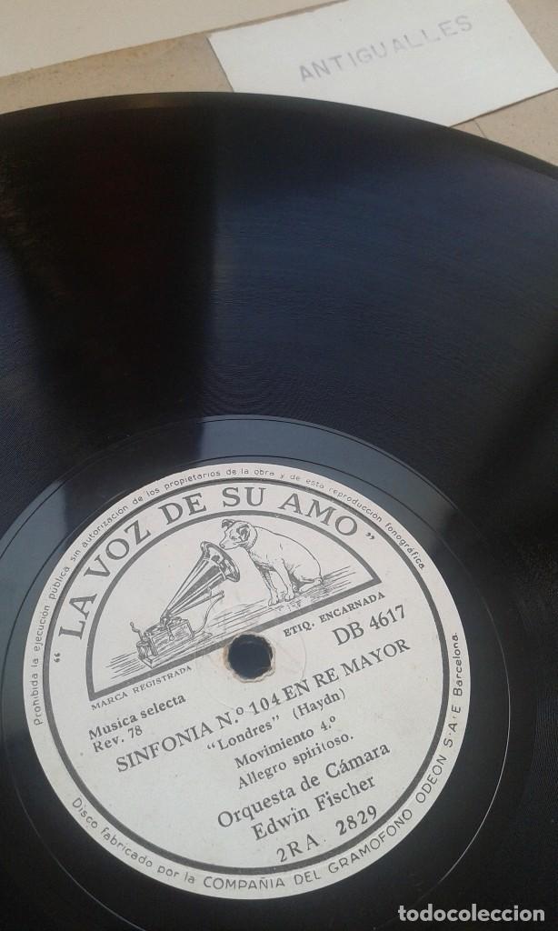 Discos de pizarra: LOTE 12 DISCOS PIZARRA 78RPM + ALBUM.LA VOZ DE SU AMO.GRAMOFONO - Foto 13 - 67670793