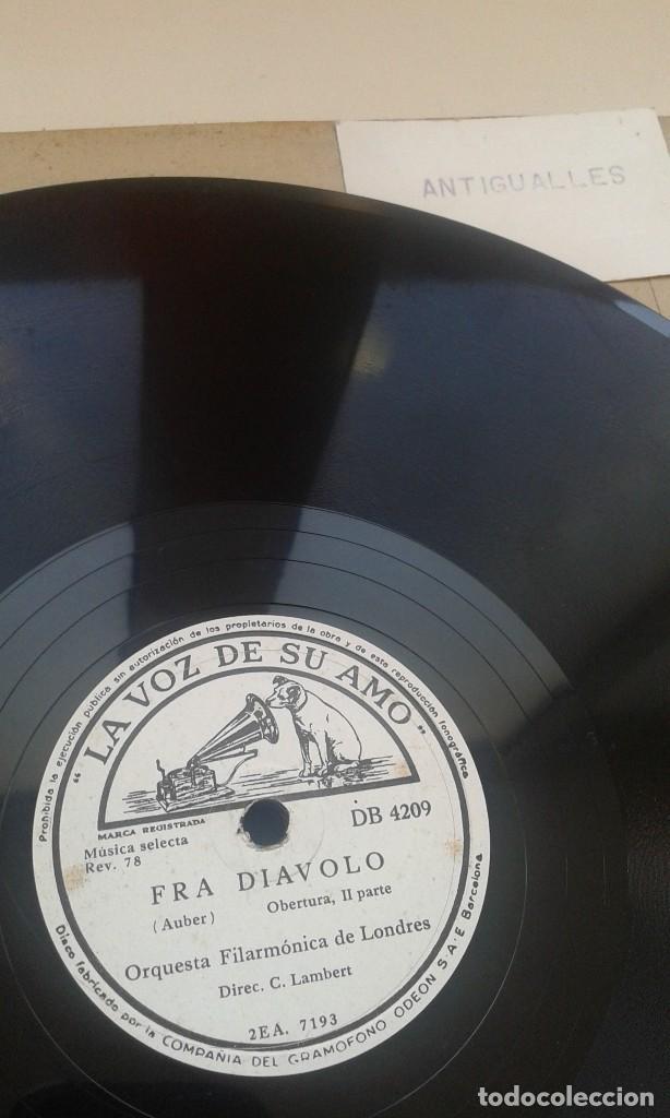 Discos de pizarra: LOTE 12 DISCOS PIZARRA 78RPM + ALBUM.LA VOZ DE SU AMO.GRAMOFONO - Foto 15 - 67670793