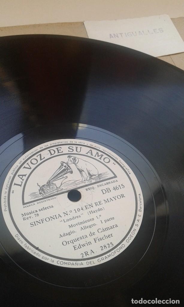 Discos de pizarra: LOTE 12 DISCOS PIZARRA 78RPM + ALBUM.LA VOZ DE SU AMO.GRAMOFONO - Foto 16 - 67670793