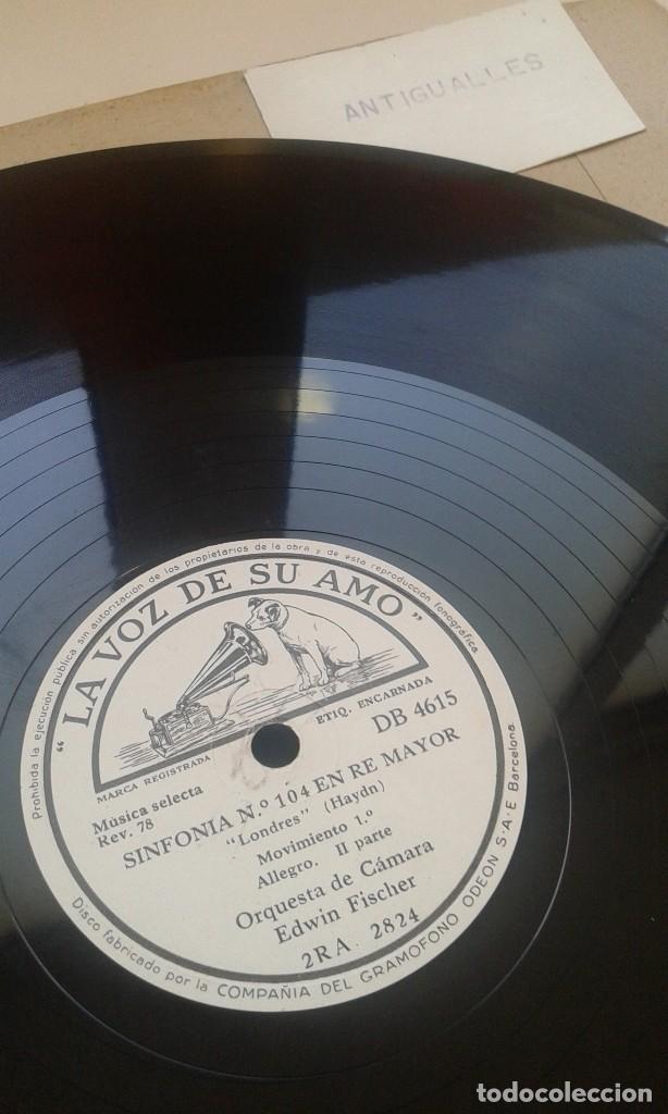 Discos de pizarra: LOTE 12 DISCOS PIZARRA 78RPM + ALBUM.LA VOZ DE SU AMO.GRAMOFONO - Foto 17 - 67670793