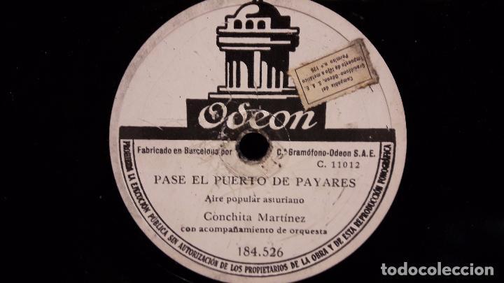 Discos de pizarra: PIZARRA !! 25 CMS. CONCHITA MARTINEZ. FOLIADA GALLEGA / PASE EL PUERTO DE PAYARES / ALGO USADO. - Foto 2 - 68253757