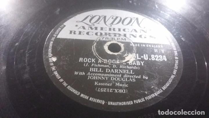 DISCO DE PIZARRA ROCK BILL DARNELL (Música - Discos - Pizarra - Jazz, Blues, R&B, Soul y Gospel)