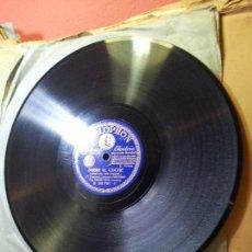 Discos de pizarra: ORQUESTA HARRY ROY--RUMBA -PEPE EL TEMIBLE Y SUBIR AL COCHE --PARLOPHON BARCELONA 26791. Lote 68572093