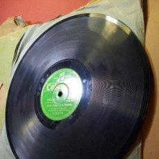 Discos de pizarra: RAMON BUSQUETS, EN ER MUNDO Y PASO AL FANDANGUILLO, ESPAÑA COLUMBIA V9374. Lote 68572741