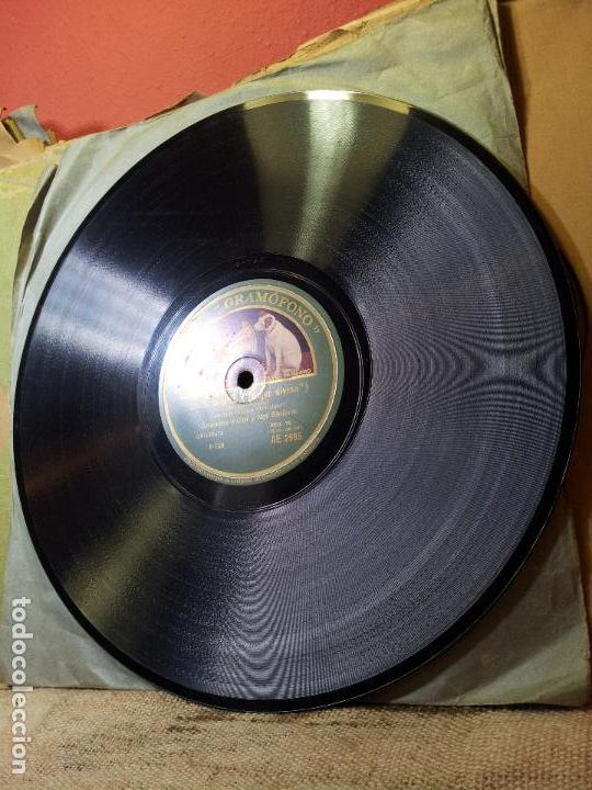 Discos de pizarra: VALS PELICULA TRAFALGAR-LADY DIVINE Y FOX-TROT PELICULA CHILDREN OF THE RITZ--VOZ DE SU AMO AE 2995 - Foto 3 - 68577881