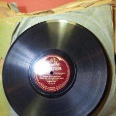 Discos de pizarra: MIGUEL FLETA AMAPOLA Y BIMBA NON T´AVVICINAR--VICTROLA. Lote 68592125