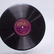 Discos de pizarra: ANTIGUO DISCO DE PIZARRA DE TERESITA CALVO Y S CAPELLA-ABAJO LAS FALDAS DISCURSO FEMINISTA REPUBLICA. Lote 68671025