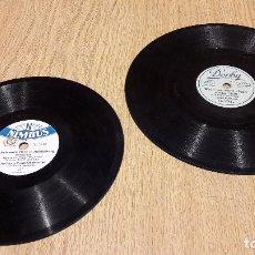 Discos de pizarra: PIZARRA !! DOS RAROS DISCOS DE 17 Y 20 CM / NIMBUS Y DERBY / DIFÍCILES DE ENCONTRAR/ LEER. Lote 69496989