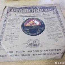 Discos de pizarra: CAVALLERIA RUSTICANA. CAMPAGNOLA.. Lote 69673021