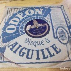 Discos de pizarra: FRED GOUIN. ECOUTE LA CHANSON DU SOIR. CHIQUITA.. Lote 69684349