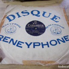 Discos de pizarra: M. E. COMMETTE. CHORAL. SCHERZO DE LA 11 EME SYMPHONIE.. Lote 69685513