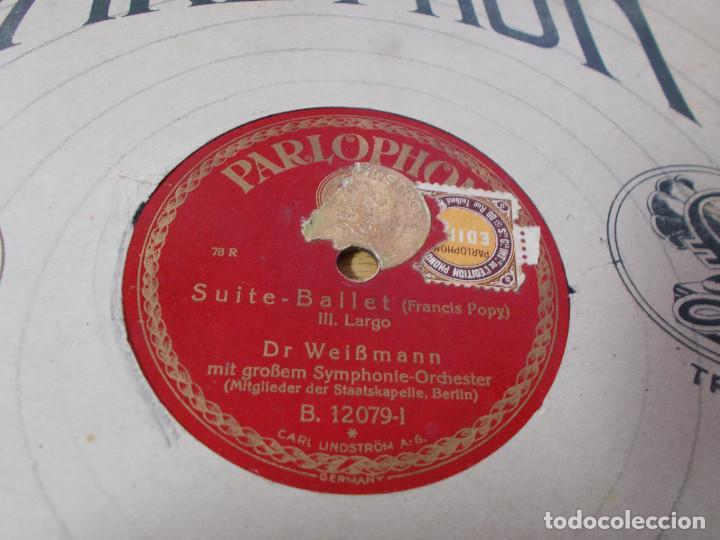 Discos de pizarra: DR. WEIBMANN. SUITE- BALLET, - Foto 2 - 69685617