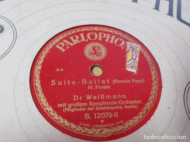 Discos de pizarra: DR. WEIBMANN. SUITE- BALLET, - Foto 3 - 69685617