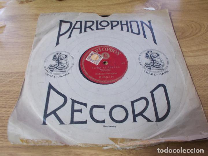 POETE ET PAYSAN. ORCHESTRE PARLOPHON (Música - Discos - Pizarra - Clásica, Ópera, Zarzuela y Marchas)