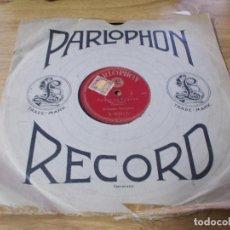 Discos de pizarra: POETE ET PAYSAN. ORCHESTRE PARLOPHON. Lote 69698493