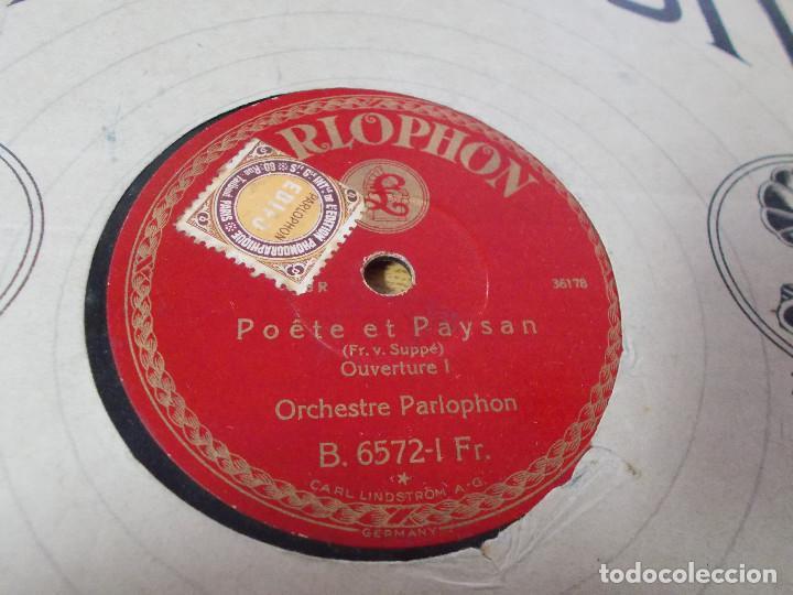 Discos de pizarra: POETE ET PAYSAN. ORCHESTRE PARLOPHON - Foto 2 - 69698493