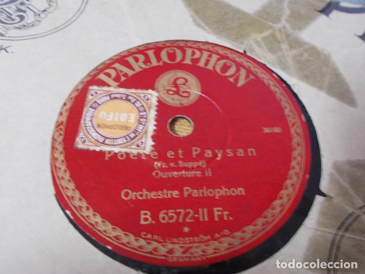 Discos de pizarra: POETE ET PAYSAN. ORCHESTRE PARLOPHON - Foto 3 - 69698493