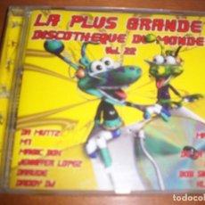 Discos de pizarra: CD LA PLUS GRANDE DISCOTHEQUE DU MONDE, VARIOS ARTISTAS. EDICION SCORPIO DE 2001 (FRANCIA).. Lote 69786933