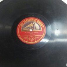 Discos de pizarra: ANTIGUO DISCO DE PIZARRA PARA GRAMOLA BACH. Lote 69791422
