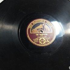 Discos de pizarra: ANTIGUO DISCO DE PIZARRA PARA GRAMOLA PETER DAWSON. Lote 69884230