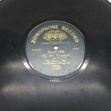 Discos de pizarra: DISCO DE PIZARRA PARA GRAMOLA DE MR. ERNEST PIKE RARO. Lote 70260011
