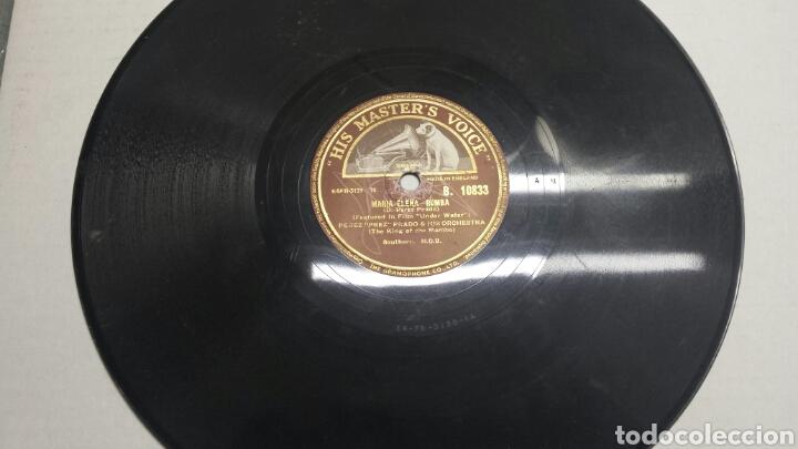 DISCO DE PIZARRA PARA GRAMOLA DE RUMBA Y MAMBO RARO (Música - Discos - Pizarra - Otros estilos)