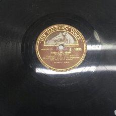 Discos de pizarra: DISCO DE PIZARRA PARA GRAMOLA DE RUMBA Y MAMBO RARO. Lote 70260265