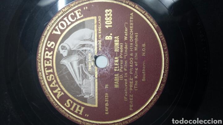 Discos de pizarra: Disco de Pizarra para Gramola de Rumba y Mambo raro - Foto 2 - 70260265