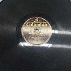 Discos de pizarra: DISCO DE PIZARRA PARA GRAMOLA DE WALTZ. Lote 70260777