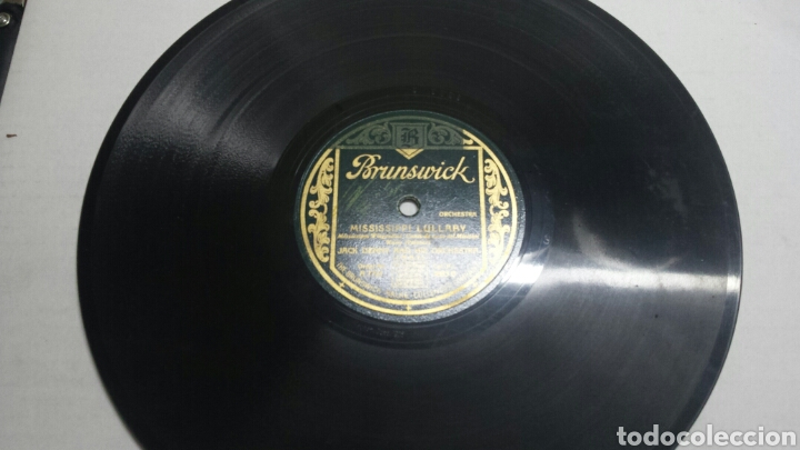DISCO DE PIZARRA PARA GRAMOLA DE JACK DENNY RARO (Música - Discos - Pizarra - Clásica, Ópera, Zarzuela y Marchas)