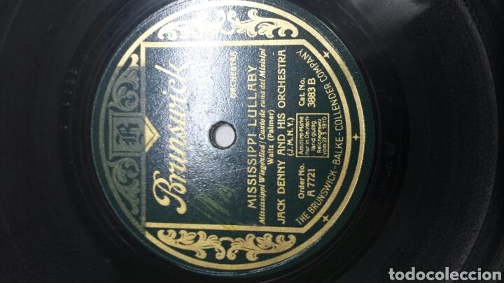 Discos de pizarra: Disco de Pizarra para Gramola de Jack Denny raro - Foto 2 - 70268485
