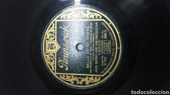 Discos de pizarra: Disco de Pizarra para Gramola de Jack Denny raro - Foto 3 - 70268485