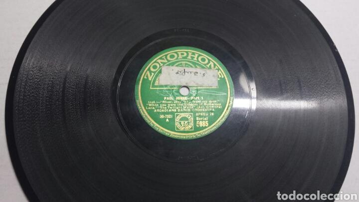 DISCO DE PIZARRA PARA GRAMOLA DE PAUL JONES (Música - Discos - Pizarra - Solistas Melódicos y Bailables)