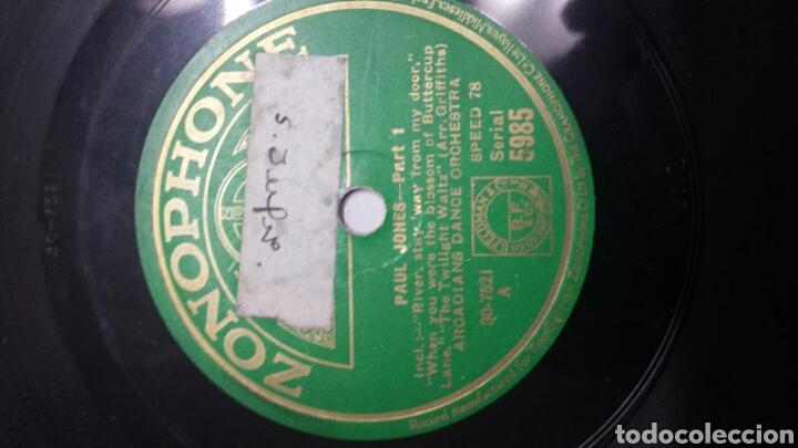 Discos de pizarra: Disco de Pizarra para Gramola de Paul Jones - Foto 2 - 70268861