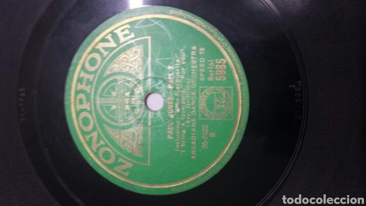 Discos de pizarra: Disco de Pizarra para Gramola de Paul Jones - Foto 3 - 70268861