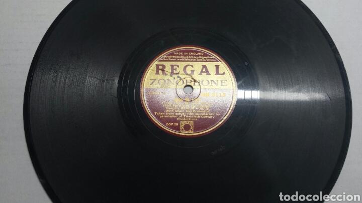 DISCO DE PIZARRA PARA GRAMOLA DE VARIOS RARO (Música - Discos - Pizarra - Solistas Melódicos y Bailables)