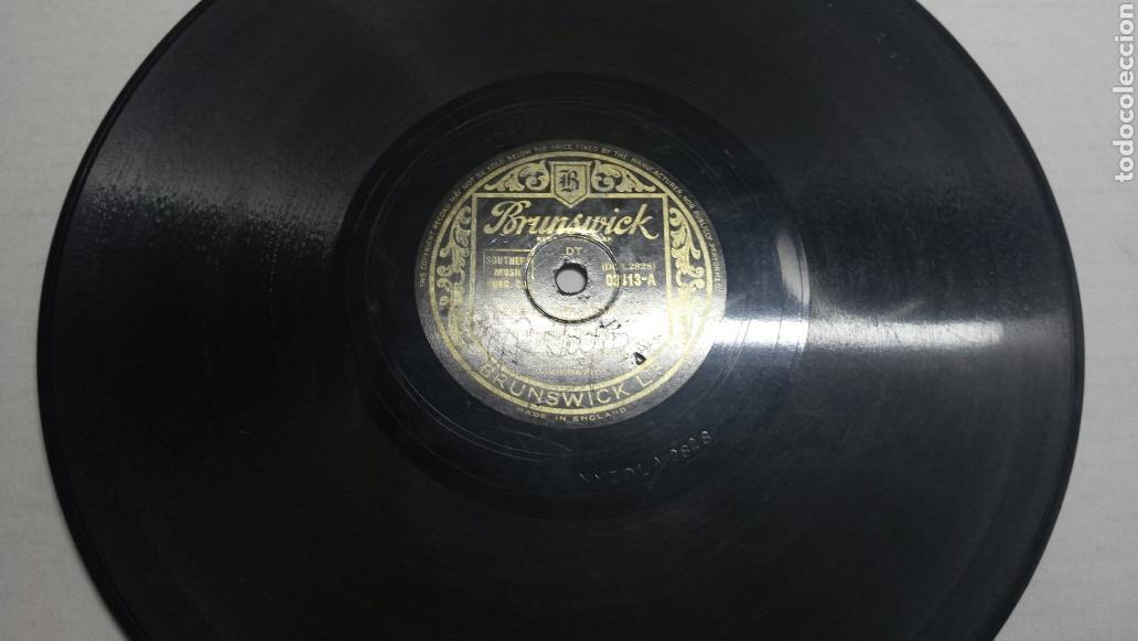 DISCO DE PIZARRA PARA GRAMOLA DE BING CROSBY (Música - Discos - Pizarra - Solistas Melódicos y Bailables)
