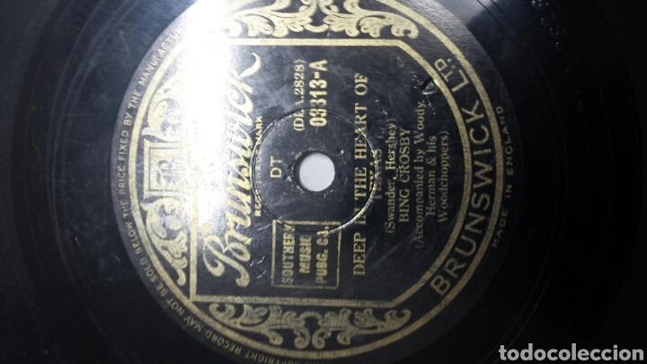 Discos de pizarra: Disco de Pizarra para Gramola de Bing Crosby - Foto 2 - 70268962
