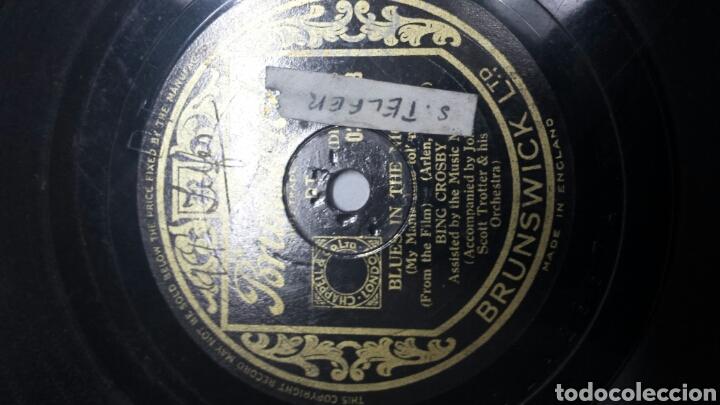 Discos de pizarra: Disco de Pizarra para Gramola de Bing Crosby - Foto 3 - 70268962