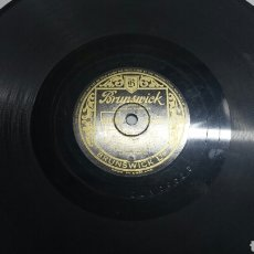 Discos de pizarra: DISCO DE PIZARRA PARA GRAMOLA DE MAIDS OF CADIZ RARO. Lote 70269017