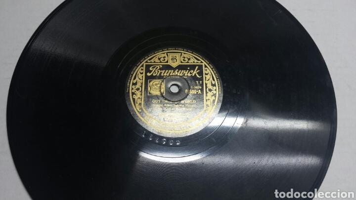 DISCO DE PIZARRA PARA GRAMOLA DE OUT OF THIS WORLD (Música - Discos - Pizarra - Solistas Melódicos y Bailables)