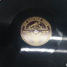 Discos de pizarra: DISCO DE PIZARRA PARA GRAMOLA DE BLACK DYKE MILLS. Lote 70269165