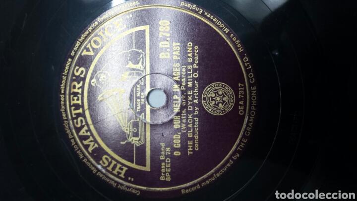 Discos de pizarra: Disco de Pizarra para Gramola de Black Dyke Mills - Foto 2 - 70269165