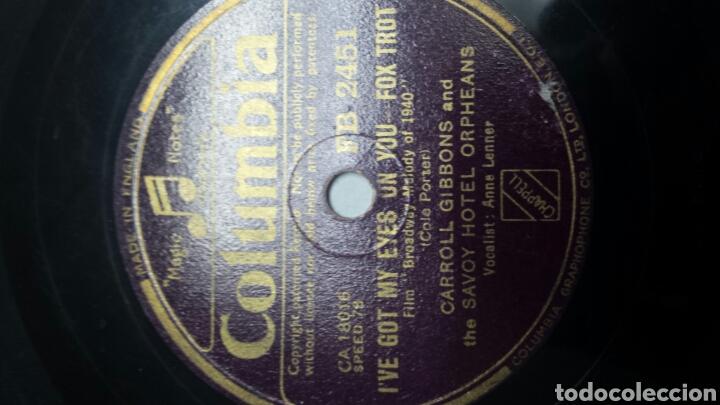 Discos de pizarra: Disco de Pizarra para Gramola del film Broadway - Foto 3 - 70269271