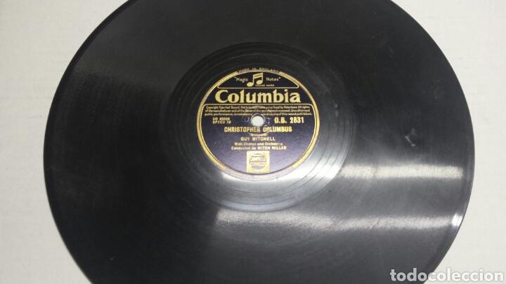 DISCO DE PIZARRA PARA GRAMOLA DE GUY MICHELL (Música - Discos - Pizarra - Solistas Melódicos y Bailables)