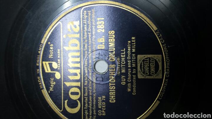 Discos de pizarra: Disco de Pizarra para Gramola de Guy Michell - Foto 2 - 70269386