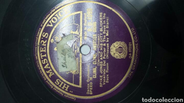 Discos de pizarra: Disco de Pizarra para Gramola de Clink,Clink,Another Drink raro - Foto 3 - 70269495
