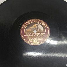 Discos de pizarra: DISCO DE PIZARRA PARA GRAMOLA MARCHA MILITAR. Lote 70269549