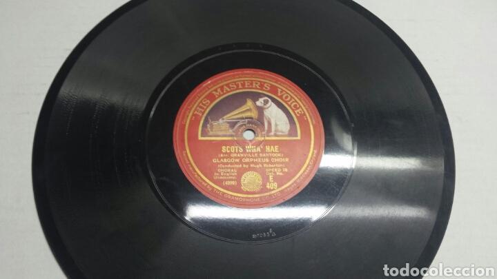 DISCO DE PIZARRA PARA GRAMOLA GLASGOW ORPHEUS (Música - Discos - Pizarra - Solistas Melódicos y Bailables)
