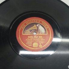 Discos de pizarra: DISCO DE PIZARRA PARA GRAMOLA GLASGOW ORPHEUS. Lote 70269629